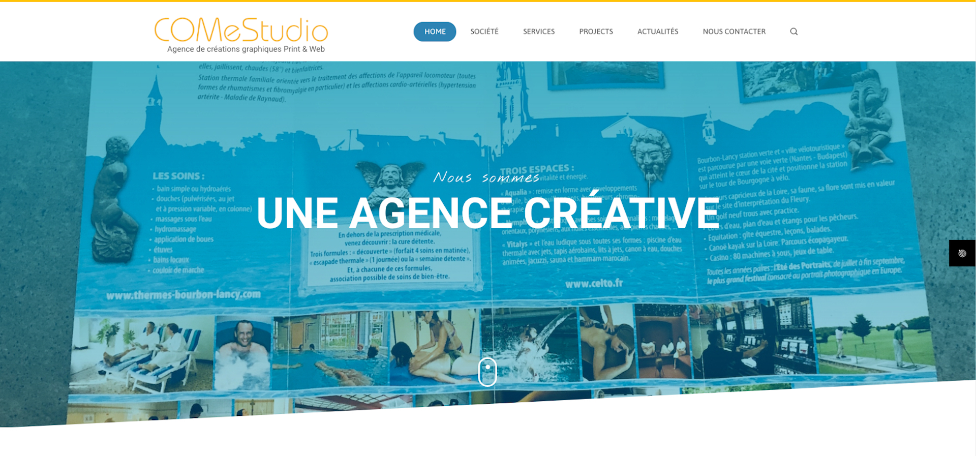 Site Internet de COMeStudio